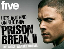 Five TV &#8211; Prison Break Competition