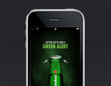Heineken – Green Alert iPhone App